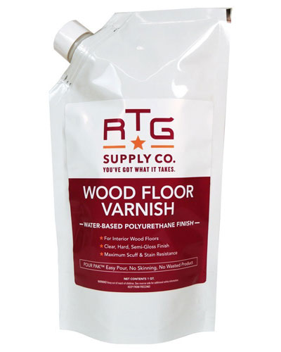 Different types of wood varnish